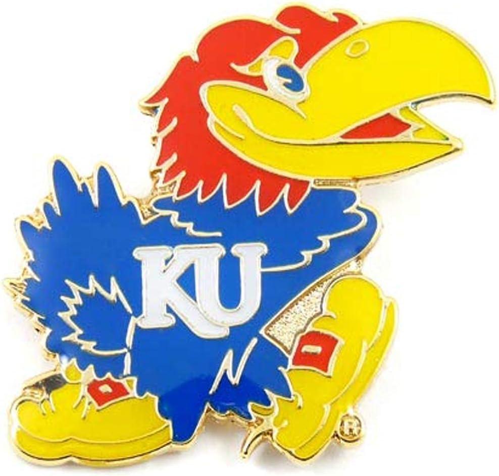 Aminco NCAA Kansas Jayhawks Team color team Discount is also underway Logo latest Pin