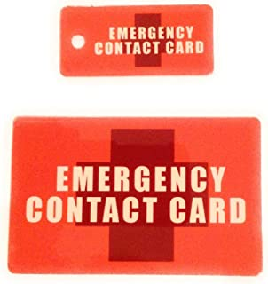 Protect My Loved One Emergency Contact Card