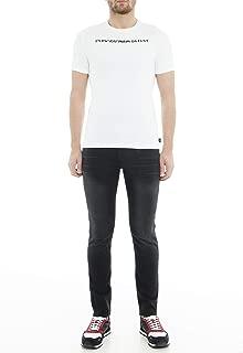 Emporio Armani J06 Slim Fit Black Jeans