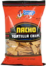 (Pack of 16) Granny Goose Tortilla Chips Nacho Chips, 9oz