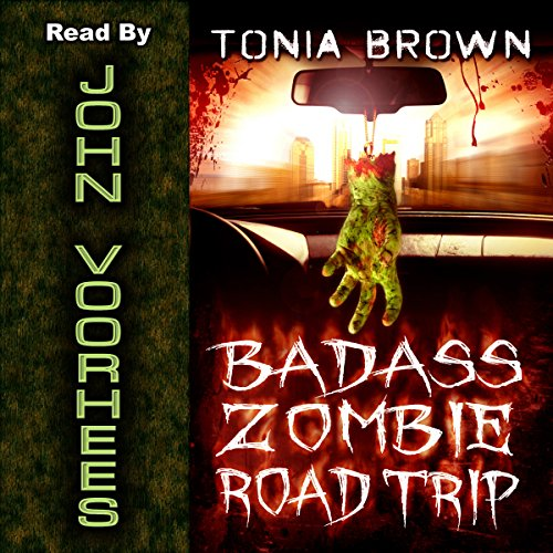 Badass Zombie Road Trip cover art