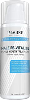 Penile Health Relief Cream No Mess Pump Soothe & Protect Red Irritated Chaffed Skin Male Re-Vitalize Large Value Size (5fl...