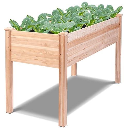 Bon Giantex Raised Garden Bed Kit Elevated Planter Box For Vegetables Fruits  Herb Grow, Heavy Duty