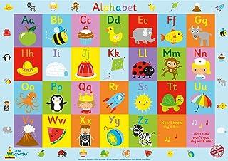"Little Wigwam Alphabet Chart -""No Tear Guarantee"" Educational Poster (60 x 42cm / 24 x 17 inches)"