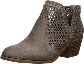 Fergalicious Women's Betrayal Ankle Boot, doe, 5.5 M US