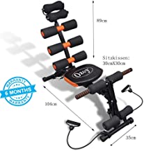 Ozoy Six Pack Abs Exerciser/ 6 Pack Machine 20 Different Mode for Exercise and Fitness Without Cycle