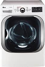 LG White Electric Steam Dryer