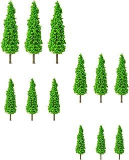 NUOBESTY 12 st modell träd tåg landskap arkitektur träd falska träd för GDS hantverk modell tåg järnväg arkitektur diorama...