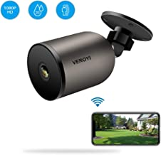 Veroyi Outdoor Security Camera 1080P WiFi IP Home Surveillance Camera with Two-Way Audio, IP66 Waterproof, FHD Night Vision, Motion Detection Compatible with iOS/Android Systems