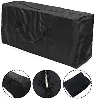 Patio Cushion Storage Bag Waterproof Outdoor Furniture Cover Durable Christmas Tree Storage Bags with Zippers Handles UV P...