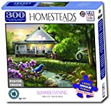 The Jigsaw Puzzle Factory Homesteads - Summer Evening, Multicolor