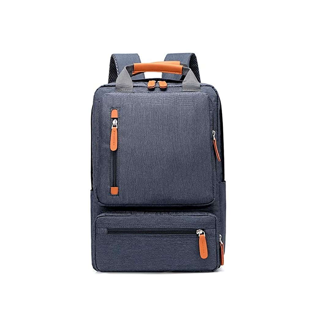 推進、動かす一定独立して盗難防止用ラップトップバックパック、15.6インチ出張旅行用コンピュータリュックサック、防水ラージカレッジ/ハイスクールバッグ(男の子/男性/女性用) (Color : B)