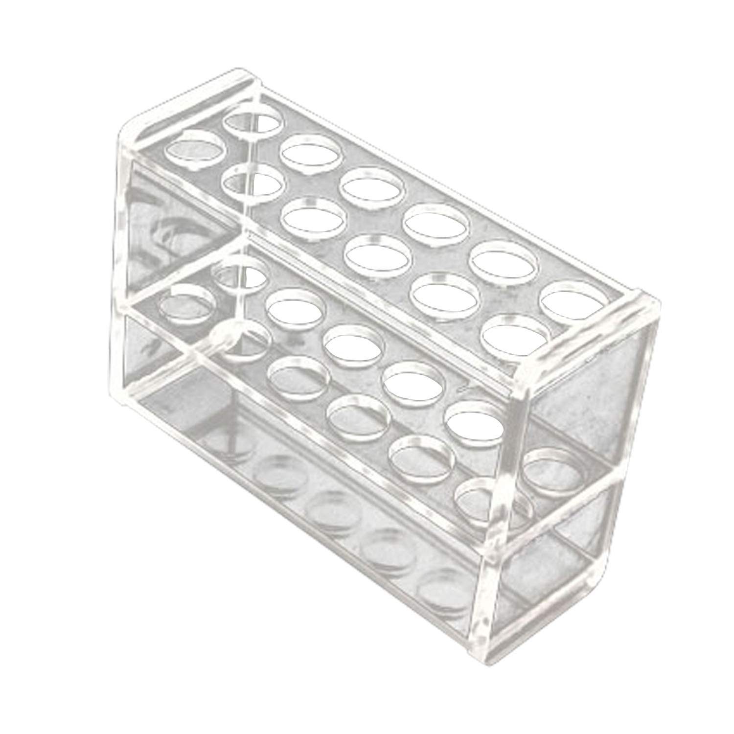 BIPEE 12 Sockets Clear Acrylic Sale special price Test 10ml for quality assurance Tube Rack fit 25ml