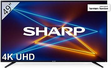 """Sharp LC-49UI7252E - UHD Smart TV de 49"""" (resolución"""