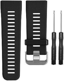 AUTRUN Band for Garmin VIVOACTIVE HR Watch, Soft Silicone Wristband Replacement Band for Garmin Vivoactive HR Sports GPS Watch