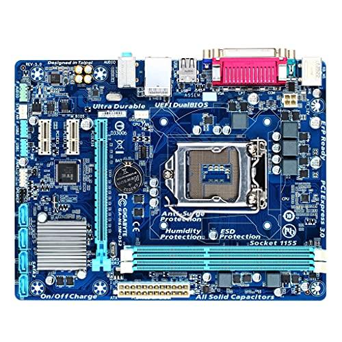 TSBB para Placa Base de Escritorio GA-H61M-Ds2 H61 Socket LGA 1155 i3 5 i7 DDR3 16G uATX UEFI BIOS H61M-DS2 Placa Base usada