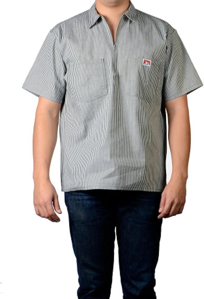 Ben Davis Mens Half Zipper Shirt