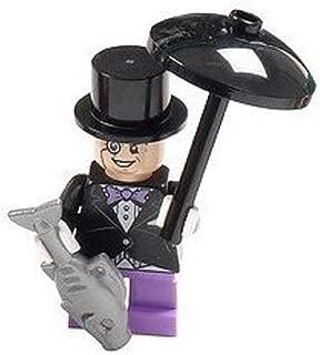 LEGO Batman Super Heroes Minifigure - Penguin with Umbrella and Fish
