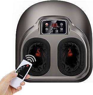 comprar comparacion Masajeador de pies Arealer, masaje pies con calefacción y compresión de aire, 5 modos de shiatsu y amasamiento para pies, ...