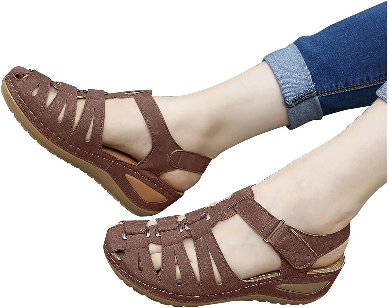 Sandals for Women Casual Summer Style Roman Size HookLoop Plus Alternative dealer Max 76% OFF