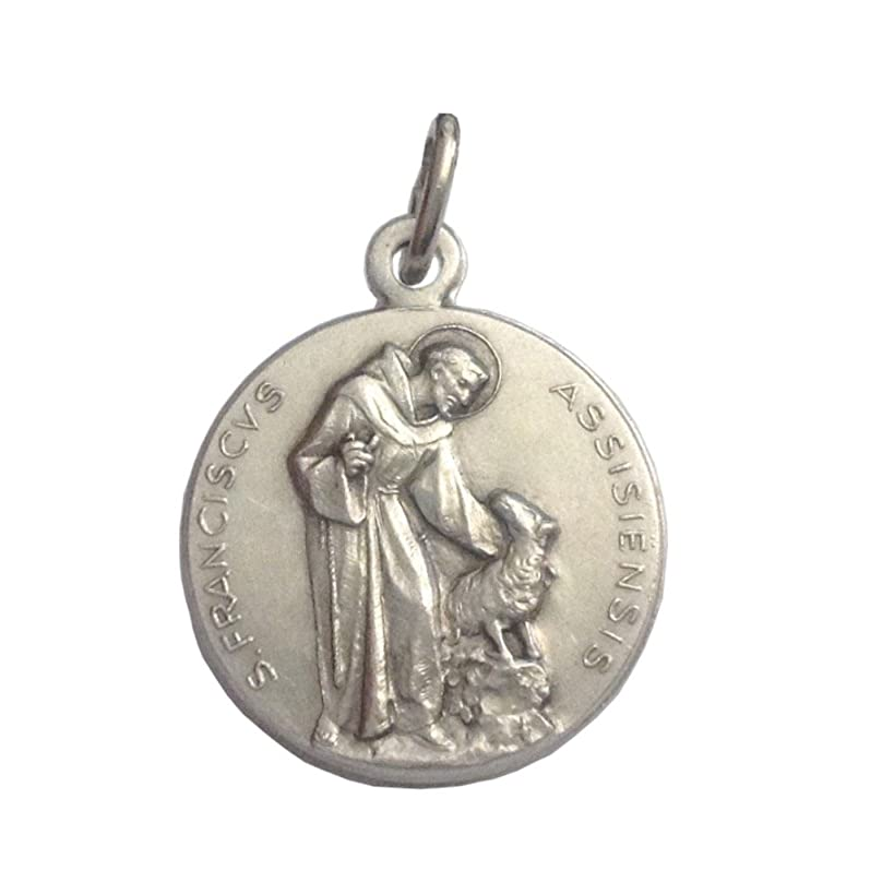 Saint Francis of Assisi Medal - The Patron Saints Medals - Made in Italy