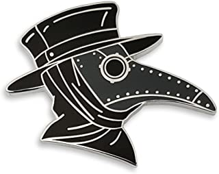 Pinsanity SteamPunk Plague Doctor's Mask Enamel Pin