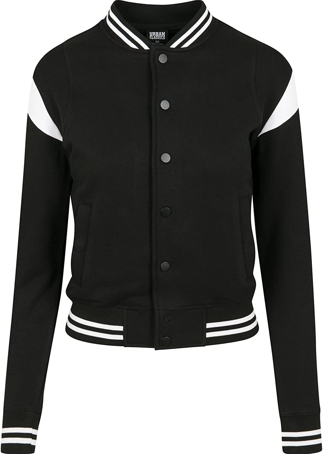 Urban Classics Women ! Super beauty product restock quality top! College Inset Jacket Large discharge sale