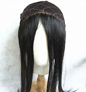 Velvet Comfort Wig Grip headband for Women Natural Hairline,1b Color