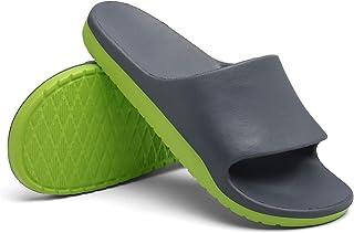 Sport Slide Sandals for Men - Outdoor Non-Slip Comfortable and Lightweight Street Surf Skis Beach Slippers