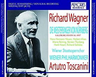 トスカニーニ指揮ウィーンフィル ワーグナー:楽劇「ニュルンベルクのマイスタージンガー」全曲