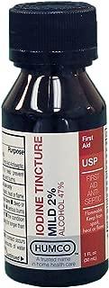 Iodine Tincture Mild 2%, USP, 1 oz