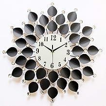 Wall Clock Wall Clock Creative Fashion Living Room Wall Clock Modern Art When Mute Quartz Pocket Watch 60CM * 60CM LJJCUICAN