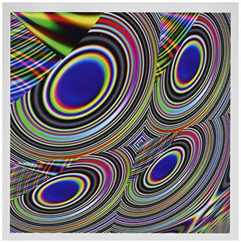 3drose liefde, de rok muziek abstract by angelandspot - wenskaarten, 6 by foto, 6 stuks (GC 7645 1)