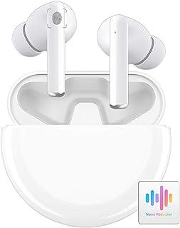 【2020最新チップ採用】完全ワイヤレス イヤホン Bluetooth イヤホン 超長24時間連続再生 Hi-Fi高音質 AAC対応 スマートノイズリダクションヘッドフォン マイク内蔵 ハンズフリー通話 軽量 Siri対応 片耳/両耳 IPX5...