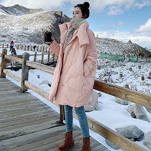 Winter Jassen Vrouwen 2019 Jas Vrouwen Losse Lange Jas Witte Jas Dikke Warm Parka S Roze