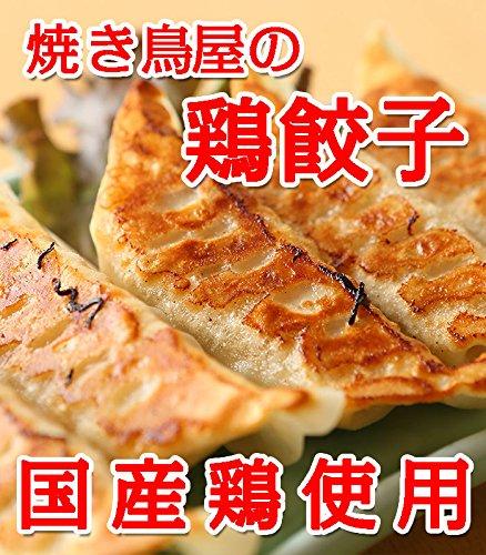 【餃子】鳥餃子 焼き鳥屋のこだわり鶏餃子 500g×3パック(1個約28g)約1.5kg 約54個〜57個 大ぶりの餃子になります 【訳あり】【焼くだけ】