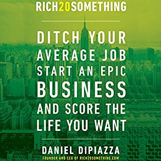 Rich20Something audiobook cover art