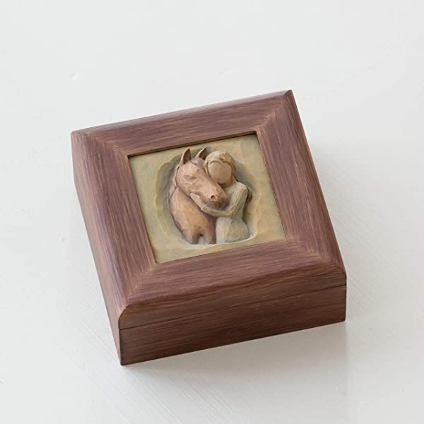 Willow Tree Quiet Strength Sculpted Hand Painted Memory Box