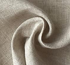 ハンドメイド用生地 150cm巾 リネン100% 無地 ナチュラル 薄地 R0126(旧品番 N-621)