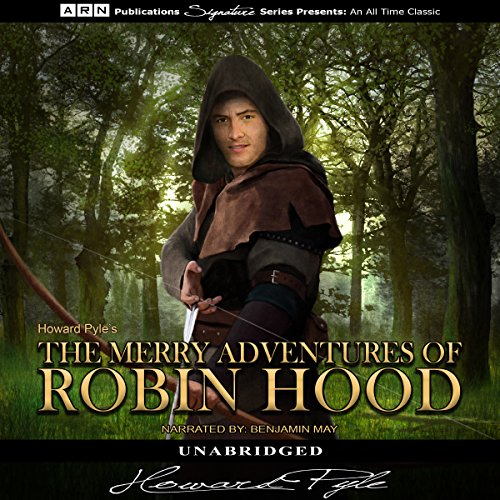 The Merry Adventures of Robin Hood audiobook cover art