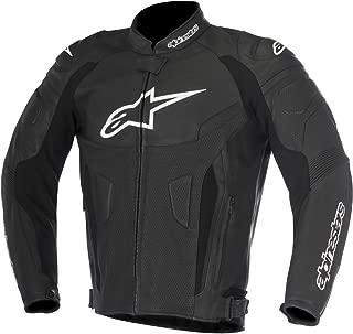 Alpinestars Men's GP Plus R V2 Leather Motorcycle Riding Jacket (56, Black)