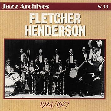 Fletcher Henderson 1924-1927 (Jazz Archives No. 33)