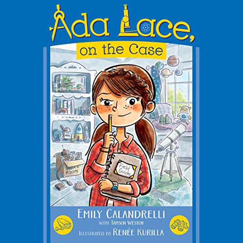 Ada Lace, On the Case audiobook cover art