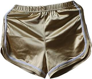 desolateness Womens Shorts Yoga Running Short Pants Beach Shorts Elastic Waist Workout Sport Athletic Shorts
