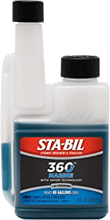 STA-BIL MARINE FORMULA ETHANOL TREATMENT 8 OZ, Manufacturer: GOLD EAGLE, Manufacturer Part Number: 22239-AD, Stock Photo - Actual parts may vary.