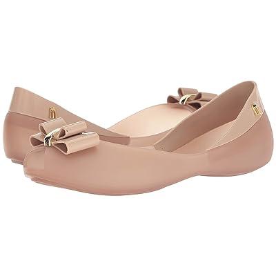 Melissa Shoes Queen V (Beige/Tan) Women