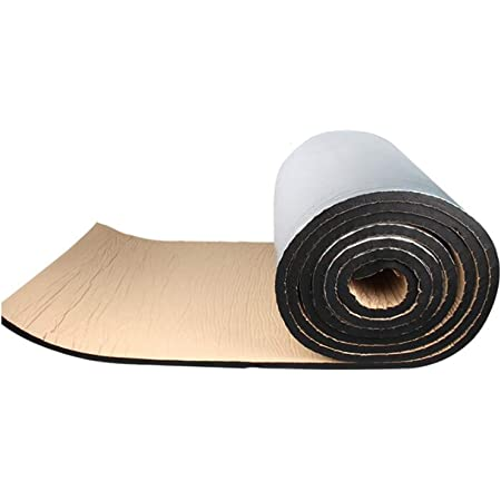 Amazon.com: Sound Insulation Cotton Wall interior acoustic panels/Home  sewer sound insulation cotton Silent sound-absorbing insulation cotton  Sound insulation material 10m²[10m long and 1m wide]: Home Improvement