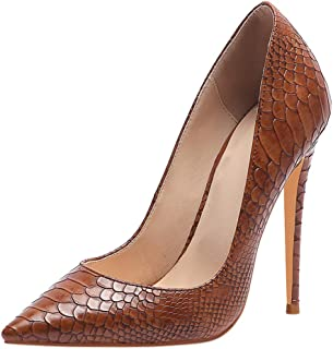 Zanpa Women Fashion Stiletto Heels Shoes Slip On