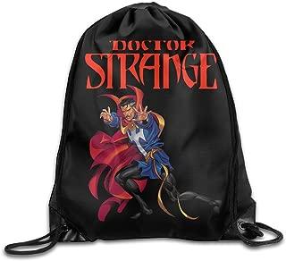 MDSHOP Doctor Strange Logo Drawstring Backpack Sack Bag