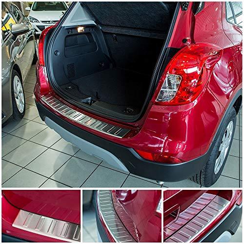 tuning-art L230 Edelstahl Ladekantenschutz für Opel Mokka X 2016-5 Jahre Garantie